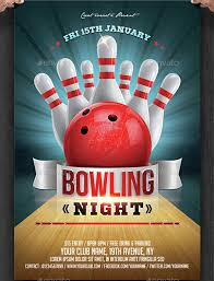 Bowling Event Flyer 23 Bowling Flyer Psd Vector Eps Jpg Download