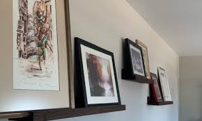 5 ways to hang picture frames without