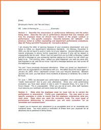 Hr Warning Letter Template Employee Expectations Template Attendance Policy Business