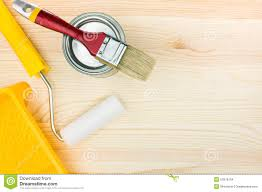 paint roller background. Fine Paint Paint Roller With Tray And Brush On Wooden Floor Inside Roller Background N