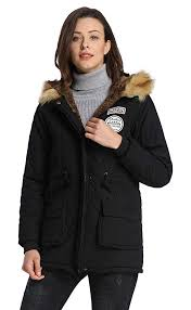 moving black ilovesia womens parkas coats faux fur lined overcoats jackets zjcwzh