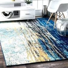 yellow rug appealing blue area rugs 8 x home website for prepare 8x10 slate pre