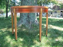 Custom Made Federal Card Table Buy a Hand Crafted Table, made to order from Andrew
