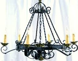inspiring iron lamp chandelier island light fixture antique wrought lamps black classic western table with leaves i