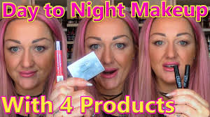 day to evening makeup transformation surprise l bar visit only 4 s on me