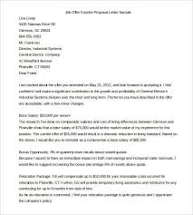 salary counteroffer letter collection of solutions counter offer letter salary proposal letter