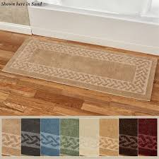 manchester herringbone rug runner 2 x 5