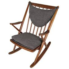 Rocking Chair Modern 1950s danish modern teak rocking chair by frank reenskaug at 1stdibs 4197 by guidejewelry.us