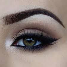 black, cool, easy, makeup