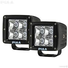 piaa cartrix com quad series led cube light kit piaa 26 06603