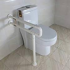 Bathroom Plumbing Impressive Amazon IBAMA R Shape Toilet Safety Frame Rail Shower Grab Bar
