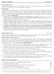 Manufacturing Engineering Sample Resume Manufacturing Engineer Sample Resume Production Pdf Format Examples 7