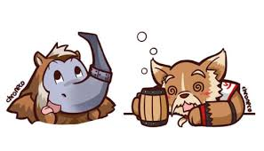 dota2 sticker magnus and brewmaster by chroneco on deviantart