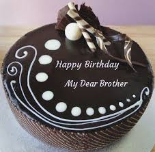 Happy Birthday My Brother Cake Birthdaycakeformentk