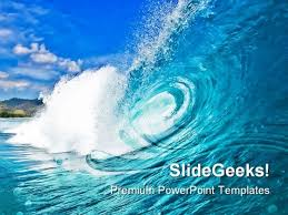 wave powerpoint templates perfect wave beach powerpoint templates and powerpoint backgrounds