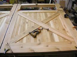 garage door plansHow To Build A Carriage Garage Door  Home Design Ideas and