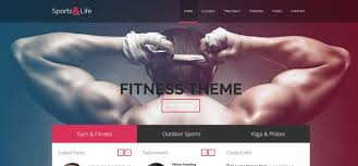 gym website design 20 fitness gym website templates for 2016 code geekz
