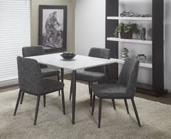 1504recdtbk rectangular dining table white lacquer top with matte black metal legs 48 l x 36 w x 29 5 h