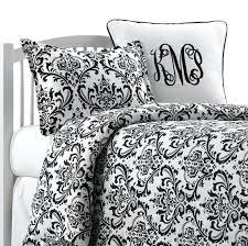 black and white damask comforters comforter king size bedding dorm set