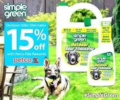 simple green outdoor pet odor eliminator dog cat 1 gal jug