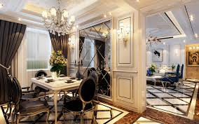 chinese style decor: nordic chinese style dining room and home decoration interior design neo classical restaurant decorated backdrop