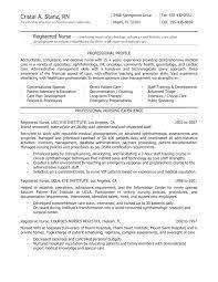 Nurses Resume Templates Nursing Resume Templates Graduate Nurse