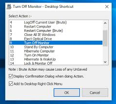 Turn Off Computer Turn Off Monitor