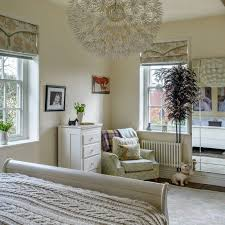 bedroom interior country. Neutral Country Bedroom With Eye-catching Pendant Light Interior L