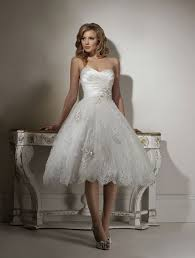 short wedding dresses that are classy sassy