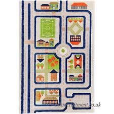 little helper 3d childrens play rug in football pitch design green 100 x 150cm b004qtq0ku