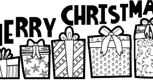 Small Picture Merry Christmas Coloring Pages to Print and Pictures to Colour