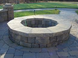 circular fire pit