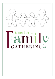 Family Reunion Flyer Templates Free Time For A Family Gathering Free Printable Family Reunion