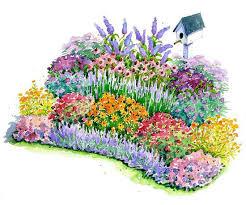 garden design plans. Five Fabulous Garden Plans Design E