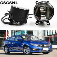 2016 Honda Civic Fog Light Assembly Us 58 0 20 Off 3 In 1 Functions Auto Led For Honda Civic 2016 2017 2018 Drl Daytime Running Light Car Projector Fog Lamp With Yellow Signal In Car