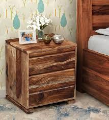 morse bed segur solid wood bedside
