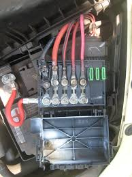 battery fuse box melting on new beetle org forums