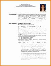 Resume Examples Professional Summary Lexusdarkride