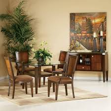 bassett mirror dining table. Bassett Mirror Dunhill 5 Piece Rectangular Glass Top Dining Room Set Table M