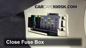interior fuse box location acura tl acura tl l v