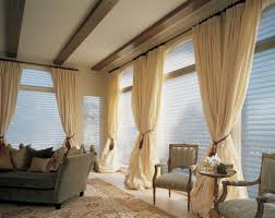 Living Room Window Curtains Home Decoration Graceful Dining Room Window Treatment Ideas With