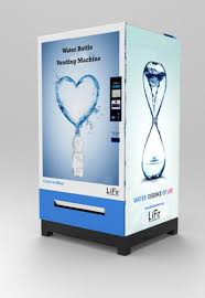 Bottle Vending Machine Delectable Water Bottle Vending Machine Vending Machine Life Automation