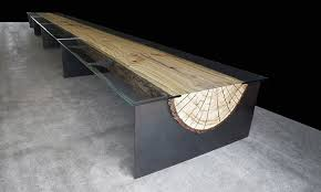 unique table. Contemporary Unique Designed By John Houshmand And Identified As Item No 0273 This Table Is  Made Of Split Raw Log It Has A Simple Design But The Result Great With Unique Table B