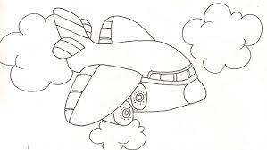 Coloriage De L Avion L L