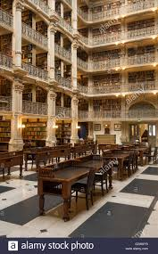 Interior Designers In Baltimore Md George Peabody Library Baltimore Md Stock Photo 104731396