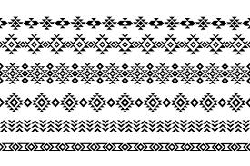 Aztec Patterns Simple Design Ideas