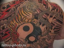 фото тату тигр и дракон 07122018 030 Tattoo Tiger And Dragon