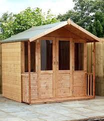 dermot traditional wooden summer house 7 x 5