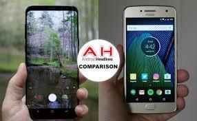 Motorola Phone Comparison Chart Phone Comparisons Samsung Galaxy S8 Vs Moto G5 Plus