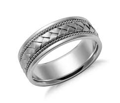 nordstrom wedding bands. simply unique, this handcrafted wedding ring in white gold features a braided design. nordstrom bands m